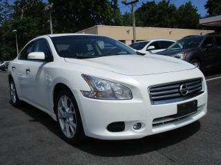 Used 2014 Nissan Maxima LEATHER - SUNROOF - WARRANTY AVAILABLE !!!! for sale in Burlington, ON