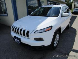 Used 2015 Jeep Cherokee GREAT VALUE NORTH EDITION 5 PASSENGER 3.2L - V6.. 4X4.. SELEC-TERRAIN.. NAVIGATION.. BACK-UP CAMERA.. BLUETOOTH SYSTEM.. HEATED SEATS.. for sale in Bradford, ON