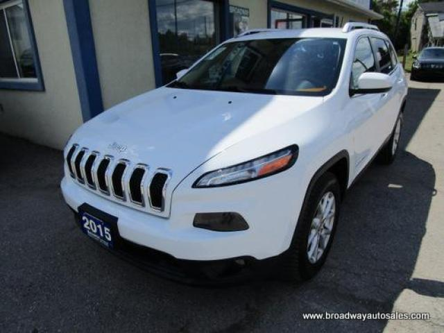 2015 Jeep Cherokee GREAT VALUE NORTH EDITION 5 PASSENGER 3.2L - V6.. 4X4.. SELEC-TERRAIN.. NAVIGATION.. BACK-UP CAMERA.. BLUETOOTH SYSTEM.. HEATED SEATS..
