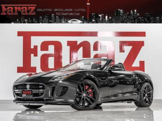 Used 2015 Jaguar F-Type S V8|CONVERTIBLE|NAVI|VALVETRONIC|REAR CAM|495HP|LOADED for sale in North York, ON