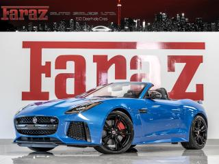 Used 2017 Jaguar F-Type SVR|575HP|EVERY CARBON OPTION|CERAMIC BRAKES|CONVERTIBLE for sale in North York, ON