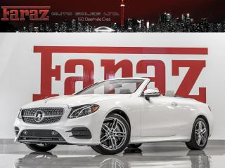 Used 2020 Mercedes-Benz E-Class E400 AMG|CONVERTIBLE|INTEL DRIVE|BURMESTER|360CAM|LOADED for sale in North York, ON