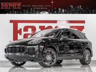 Used 2017 Porsche Cayenne 3.6 V6|BOSE|PREM PKG|PLATINUM|NAVI|REAR CAM|LOADED for sale in North York, ON
