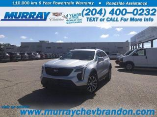 New 2020 Cadillac XT4 AWD Sport for sale in Brandon, MB