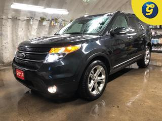 Used 2014 Ford Explorer Limited * 4WD * Navigation * 7 passenger * Leather * Double power sunroof *  Power rear lift gate * Active park assist * for sale in Cambridge, ON