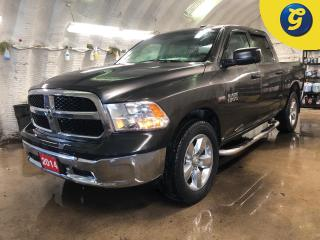 Used 2014 RAM 1500 Crew Cab 4X4  Hemi * 20 inch Rims * Chrome Side Steps * Trailer Hitch Reciver with Pin Connector * Tow Package * Tow/Haul Mode * Uconnect Voice Comman for sale in Cambridge, ON