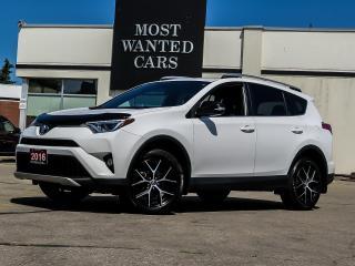 Used 2016 Toyota RAV4 SE NAVIGATION LEATHER BLIND for sale in Kitchener, ON