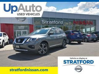 Used 2018 Nissan Pathfinder Platinum 4WD for sale in Stratford, ON
