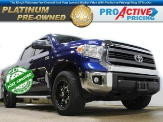 Used 2014 Toyota Tundra SR5 | Crew | 4X4 | 5.7L V8 | Aftermarket Rims for sale in Virden, MB
