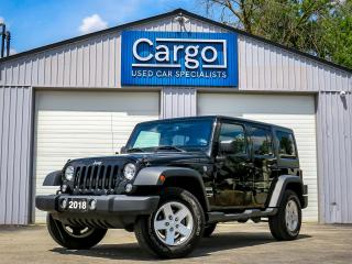 Used 2018 Jeep Wrangler JK Unlimited for sale in Stratford, ON