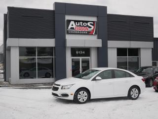 Used 2015 Chevrolet Cruze Vendu, sold merci for sale in Sherbrooke, QC