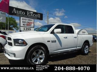Used 2014 RAM 1500 SPORT for sale in Winnipeg, MB