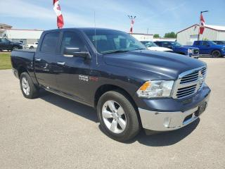 Used 2018 RAM 1500 4x4, Crew Cab, HTD Seats& Wheel, Nav, Remote Start for sale in Ingersoll, ON