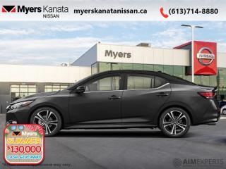 Used 2020 Nissan Sentra SR CVT  -  Sunroof -  Heated Seats - $165 B/W for sale in Kanata, ON