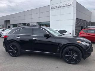 Used 2016 Infiniti QX70 'S' Sport 325hp! *Paddle-Shift *Extra clean! for sale in St-Hubert, QC