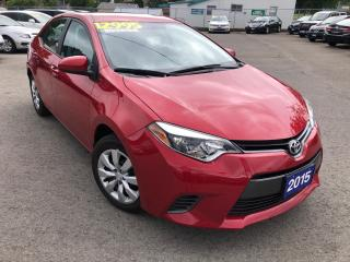 Used 2015 Toyota Corolla LE for sale in St Catharines, ON