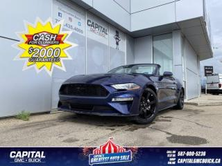 Used 2019 Ford Mustang EcoBoost Premium Convertible NAV HEATED/COOLED SEATS for sale in Edmonton, AB