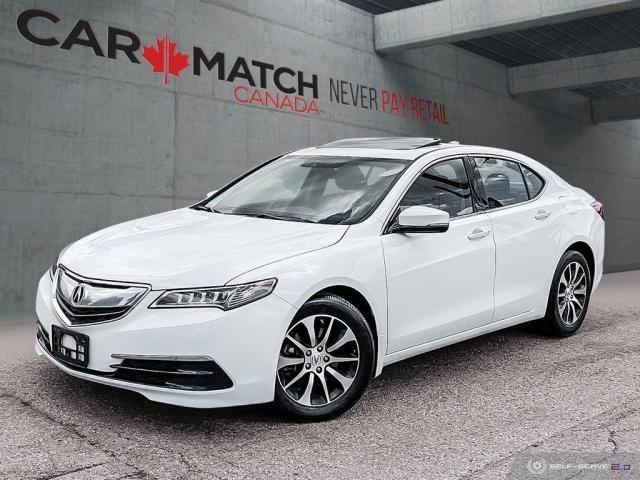 2016 Acura TLX TECH / NAV / LEATHER / SUNROOF