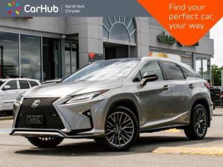Used 2017 Lexus RX 350 F Sport 3 AWD HeadsUp Display Mark Levinson Sound Panoramic Sunroof for sale in Thornhill, ON