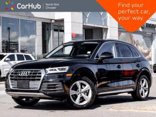 Used 2020 Audi Q5 Progressiv Quattro Only 49 KM Navigation Panoramic Sunroof Bluetooth Backup Camera Heated Front Seat for sale in Thornhill, ON