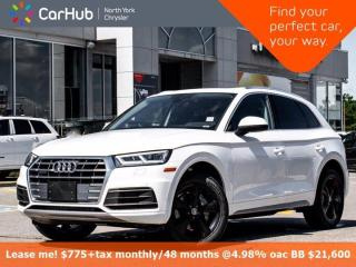 Used 2020 Audi Q5 Progressiv Quattro Only 54 KM Navigation Panoramic Sunroof Bluetooth Backup Camera Heated Front Seat for sale in Thornhill, ON