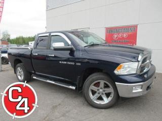 Used 2012 RAM 1500 BIG HORN V8 HEMI MAGS 20'' MARCHE-PIEDS BLUETOOTH for sale in St-Jérôme, QC