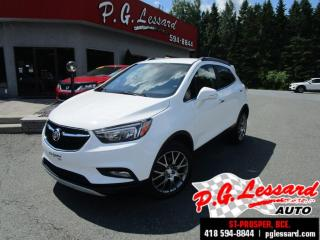 Used 2017 Buick Encore Tourisme Sport AWD for sale in St-Prosper, QC