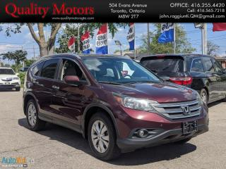 Used 2013 Honda CR-V Touring for sale in Etobicoke, ON
