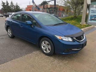 Used 2013 Honda Civic AUTO,124KM,$6900,SAFETY+3 YEARS WARRANTY INCLUDED for sale in Toronto, ON