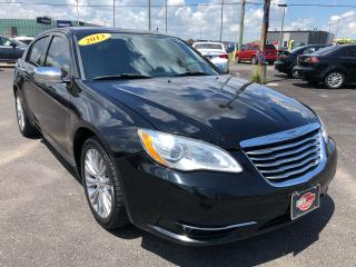 Used 2013 Chrysler 200 LIMITED*LEATHER*HEATED SEATS* for sale in London, ON