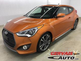 Used 2016 Hyundai Veloster Turbo Tech GPS Cuir Toit Ouvrant MAGS for sale in Shawinigan, QC