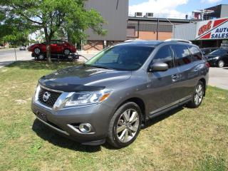 Used 2015 Nissan Pathfinder Platinum ~ 360 CAM ~ PANO ROOF ~ DVD ~ LOW KM for sale in Toronto, ON