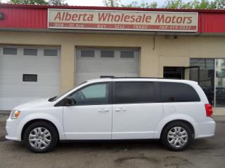 Used 2018 Dodge Grand Caravan SXT for sale in Edmonton, AB