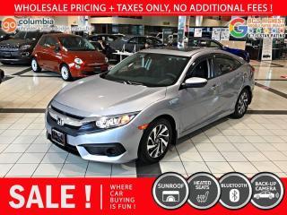 Used 2017 Honda Civic Sedan EX - Sunroof / Heated Seats for sale in Richmond, BC