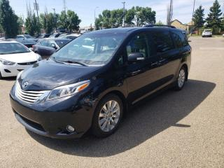 Used 2015 Toyota Sienna LIMITED for sale in Edmonton, AB