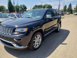Used 2015 Jeep Grand Cherokee Summit for sale in Edmonton, AB