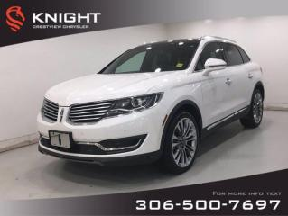 Used 2016 Lincoln MKX Reserve | Leather | Sunroof | Navigation | for sale in Regina, SK