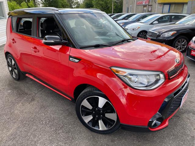 2014 Kia Soul 2-TONE INFERNO/ AUTO/ LEATHER/ CAM/ BLUETOOTH ++