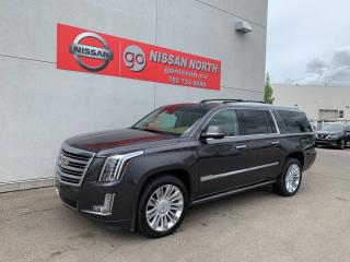 Used 2015 Cadillac Escalade ESV Platinum 4dr 4WD Sport Utility Vehicle for sale in Edmonton, AB