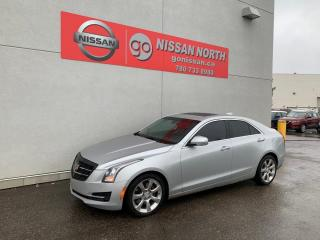 Used 2015 Cadillac ATS Sedan Luxury AWD 4dr AWD Sedan for sale in Edmonton, AB