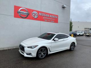Used 2017 Infiniti Q60 3.0t 2dr AWD Coupe for sale in Edmonton, AB