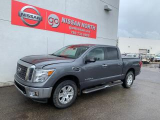 Used 2017 Nissan Titan SV 4x4 Crew Cab 139.8 in. WB for sale in Edmonton, AB