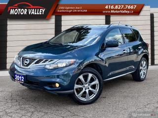 Used 2012 Nissan Murano PLATINUM AWD - NAVIGATION - CAMERA - MINT! for sale in Scarborough, ON