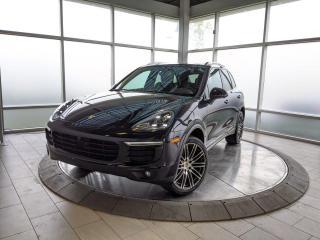 Used 2018 Porsche Cayenne Platinum Edition for sale in Edmonton, AB