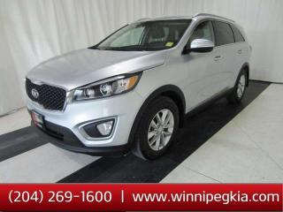Used 2016 Kia Sorento 2.0L LX+ *Collision Free!* for sale in Winnipeg, MB