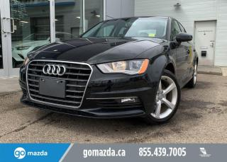 Used 2016 Audi A3 1.8T Komfort for sale in Edmonton, AB