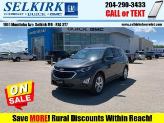 New 2020 Chevrolet Equinox LT  - Navigation - Sunroof for sale in Selkirk, MB