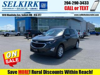 New 2020 Chevrolet Equinox LT  -  Power Seats -  Heated Seats for sale in Selkirk, MB