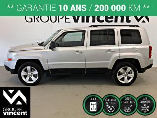 Used 2011 Jeep Patriot NORTH 4X4 ** GARANTIE 10 ANS ** En 4X4, une tenue de route incroyable pour l'aventure! for sale in Shawinigan, QC
