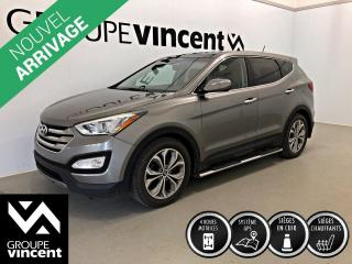 Used 2013 Hyundai Santa Fe SPORT 2.0T LIMITED AWD  ** GARANTIE 10 ANS ** Version tout équipée, confortable et logeable! for sale in Shawinigan, QC